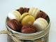 Photo - Recette de Macarons au chocolat ganache jivara et au thé rose litchi
