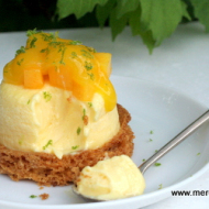 Cheesecake passion mangue
