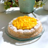 Tarte dacquoise mangue passion
