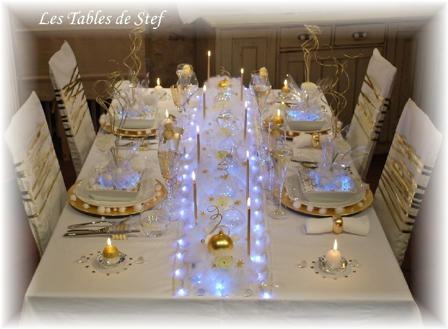 De nouvelles id es d co pour vos tables de f te table for Decoration 31 decembre