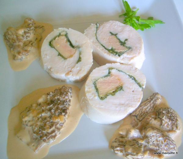 La cuisine de mercotte macarons verrines et chocolat rosace de volaille aux morilles - La cuisine de mercotte ...