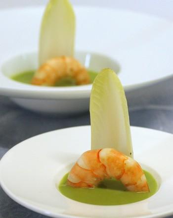 Encore une recette facile du thuri s crevette sauce for Entree gastronomique facile