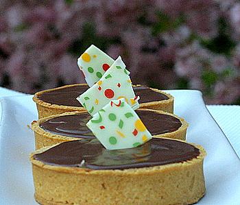 Apr s la master class avec pierre herm comment r sister - Comment decorer une tarte au chocolat ...