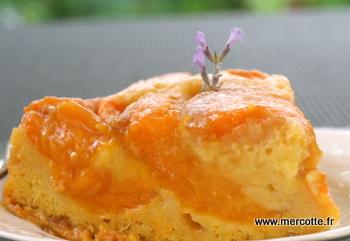 Recette gateau abricot moelleux