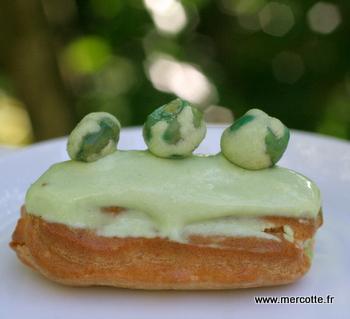 Eclairs Truite Fum 233 E Wasabi D Apr 232 S Christophe Adam La Cuisine De Mercotte Macarons