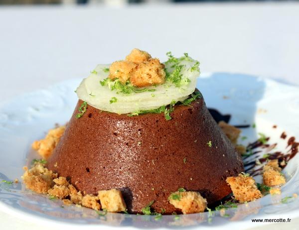 La cuisine de mercotte macarons verrines et chocolat moelleux chocolat amande gluten - La cuisine de mercotte ...