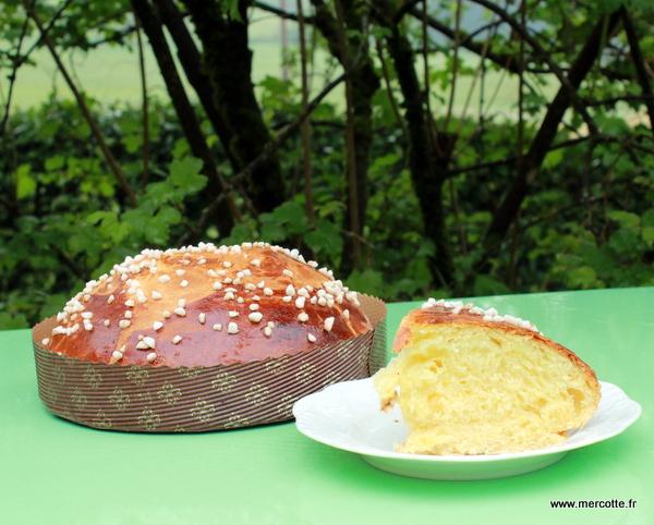 La mouna brioche de p ques la cuisine de mercotte - Telematin recettes cuisine carinne teyssandier ...
