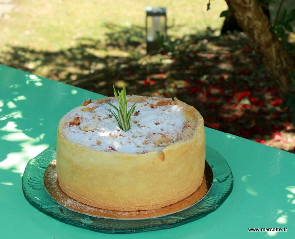 clafoutis abricot vanille romarin la cuisine de mercotte. Black Bedroom Furniture Sets. Home Design Ideas