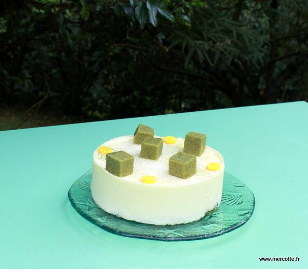 Recette Cake The Vert Matcha Valrhona