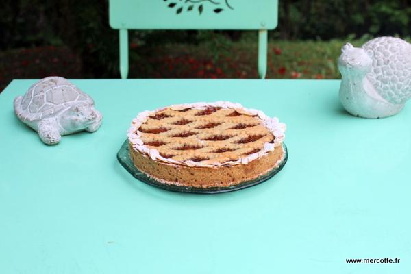 La cuisine de mercotte macarons verrines et chocolat tarte l abricot comme une linzer - La cuisine de mercotte ...