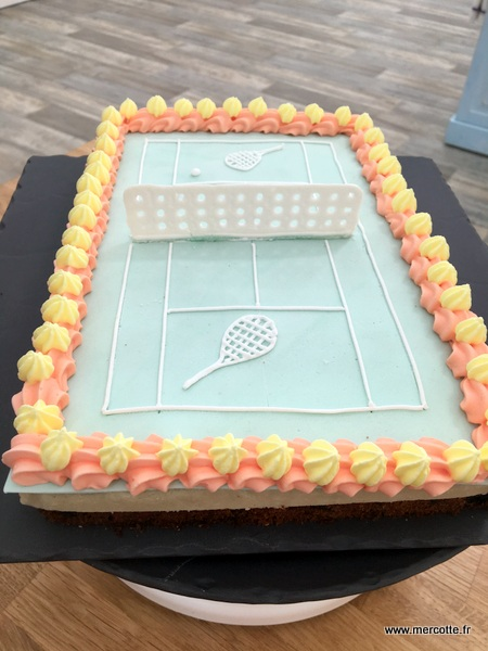 Tennis Cake Recette De Mercotte