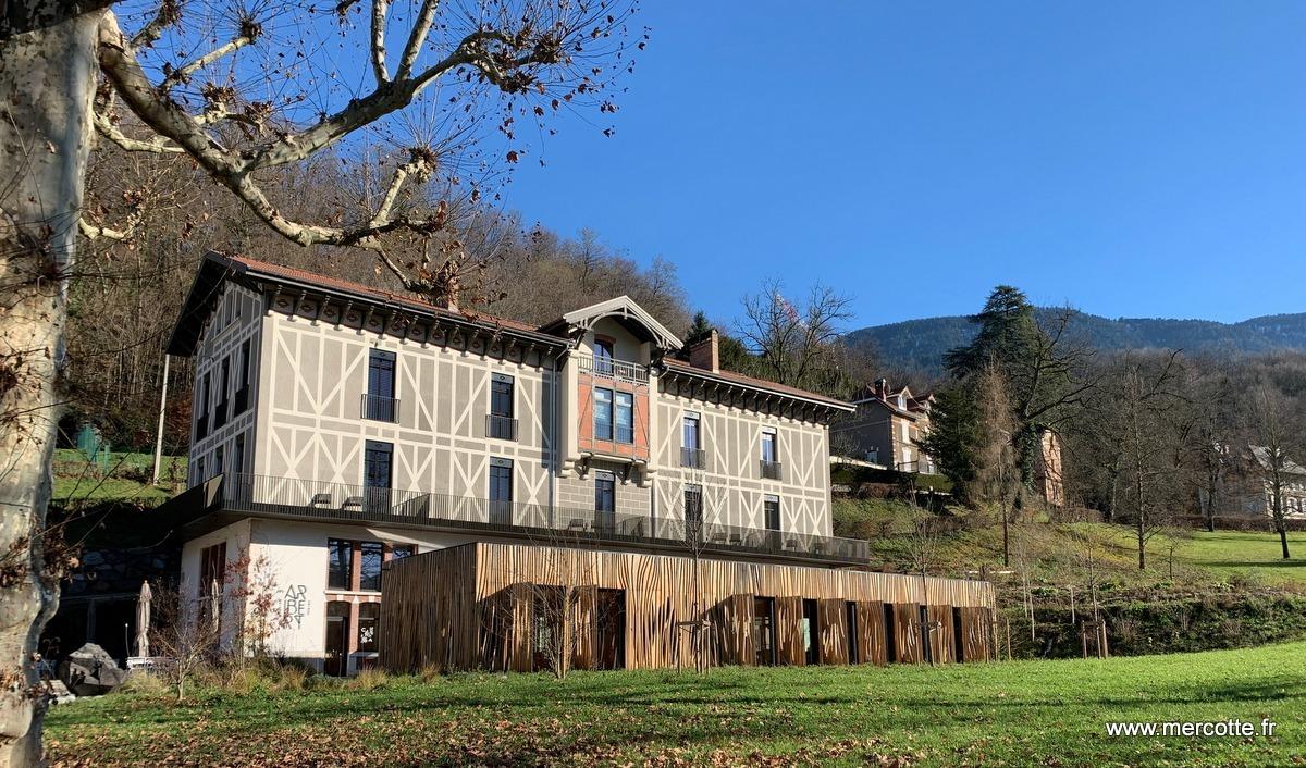 Maison Et Chocolat Uriage Les Bains christophe aribert 2 étoiles michelin dans sa nouvelle