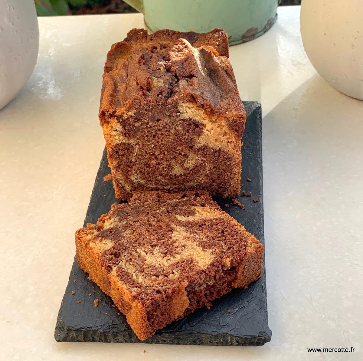 Cake Marbre Version Frederic Bau La Cuisine De Mercotte